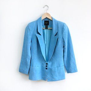 Smythe low-button Blue Blazer - size 2